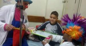 الرنتيسى للأطفال يستقبل جمعيات محلية لترفيه المرضى