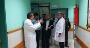 م.شهداء الأقصى يبحث مع وحدة التمريض سير عمل الطواقم التمريضية