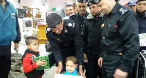 الرنتيسى للأطفال يستقبل وفد من جهاز الشرطة الفلسطينية