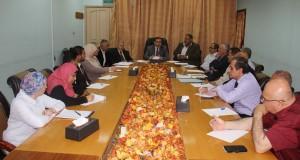 د. نعيم يشكل لجنة تأسيسية مشتركة لتطوير آفاق التعاون مع المؤسسات الأهلية الصحية