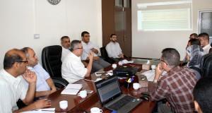 د. ابو الريش يثمن جهد اللجنة المركزية لمتابعة الخطة التشغيلية للعام 2017