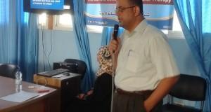 مستشفى غزة الأوروبي ينظم اليوم العلمي الأول لدائرة الصيدلة بعنوان (دليل سانفورد للعلاجات المضادة)