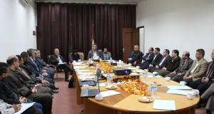 د. أبو الريش يدعو الى استثمار عودة الكوادر الفنية في تعزيز عمل الأقسام الصحية