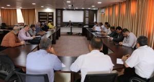 مدير العام الرعاية الصحية الأولية يجتمع بمدراء الدوائر و مدراء المناطق الصحية