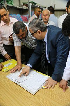 مدير عام الرعاية الصحية الأولية يتفقد مركز شهداء خان يونس و مركز شهداء رفح الصحي
