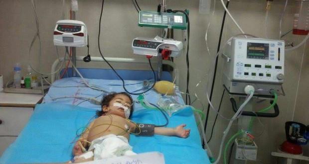 طفولة على حافة الموت ..  يوسف ينتظر الرحمة في العناية المركزة بمستشفى الرنتيسي للأطفال