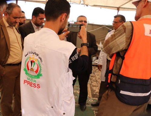 الكوادر الإعلامية في الميدان.. جنودٌ مجهولون والحقيقة سلاحهم