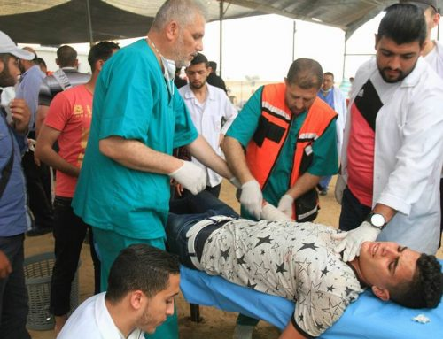 Great efforts exerted by the Palestinian MOH in Gaza to save the mounting casualties of the Great March of Return