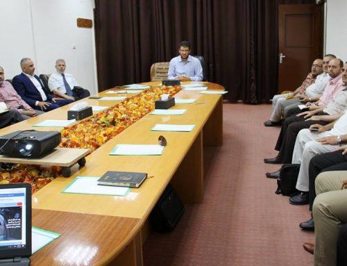د. أبو الريش : الجهود التي بذلت خلال الفترة الماضية استثنائية في ظروف صعبة وقاسية