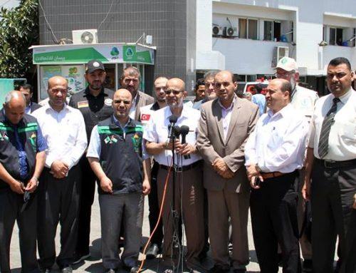 وفد قافلة أميال من الابتسامات 34 : غزة تعيش أصعب فترات الحصار وتداعياته على الوضع الصحي والانساني
