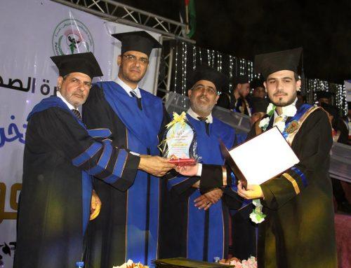 كلية فلسطين للتمريض تحتفل بتخريج فوج العودة الثامن والثلاثين