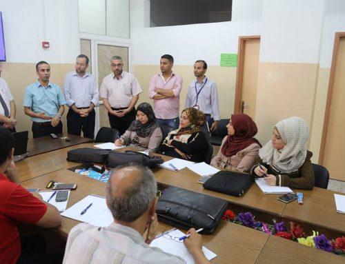 الإدارة العامة لتنمية القوى البشرية تفتتح دورة البحث الصحي والتحليل الاحصائي
