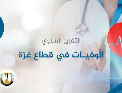 التقرير السنوي للوفيات للعام 2017 – مركز المعلومات الصحية الفلسطيني غزة