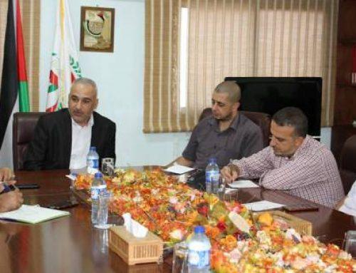 خلال لقائه بالمباحث الطبية د. ابو زاهر يؤكد على تعزيز مبدأ الشراكة