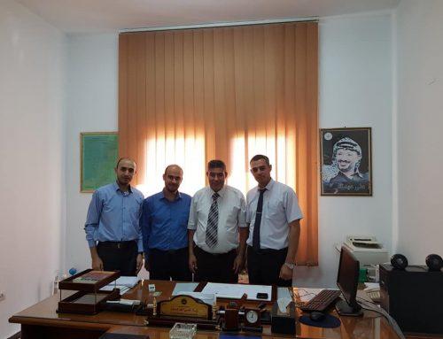 الإدارة العامة للوحدات الفنية المساعدة تنفذ جولة على جامعات قطاع غزة