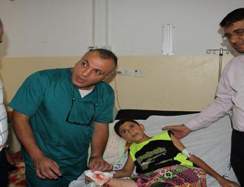 """تغول الاحتلال لم يسعف """"محمد"""" من سفك براءته"""