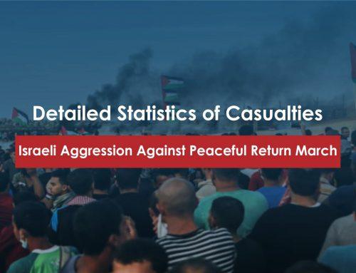 3-11-2018- Israeli Aggression Against Peaceful Return March-