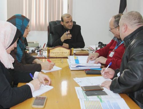 MOH-Gaza, UNICEF discussing the implementation of related projects