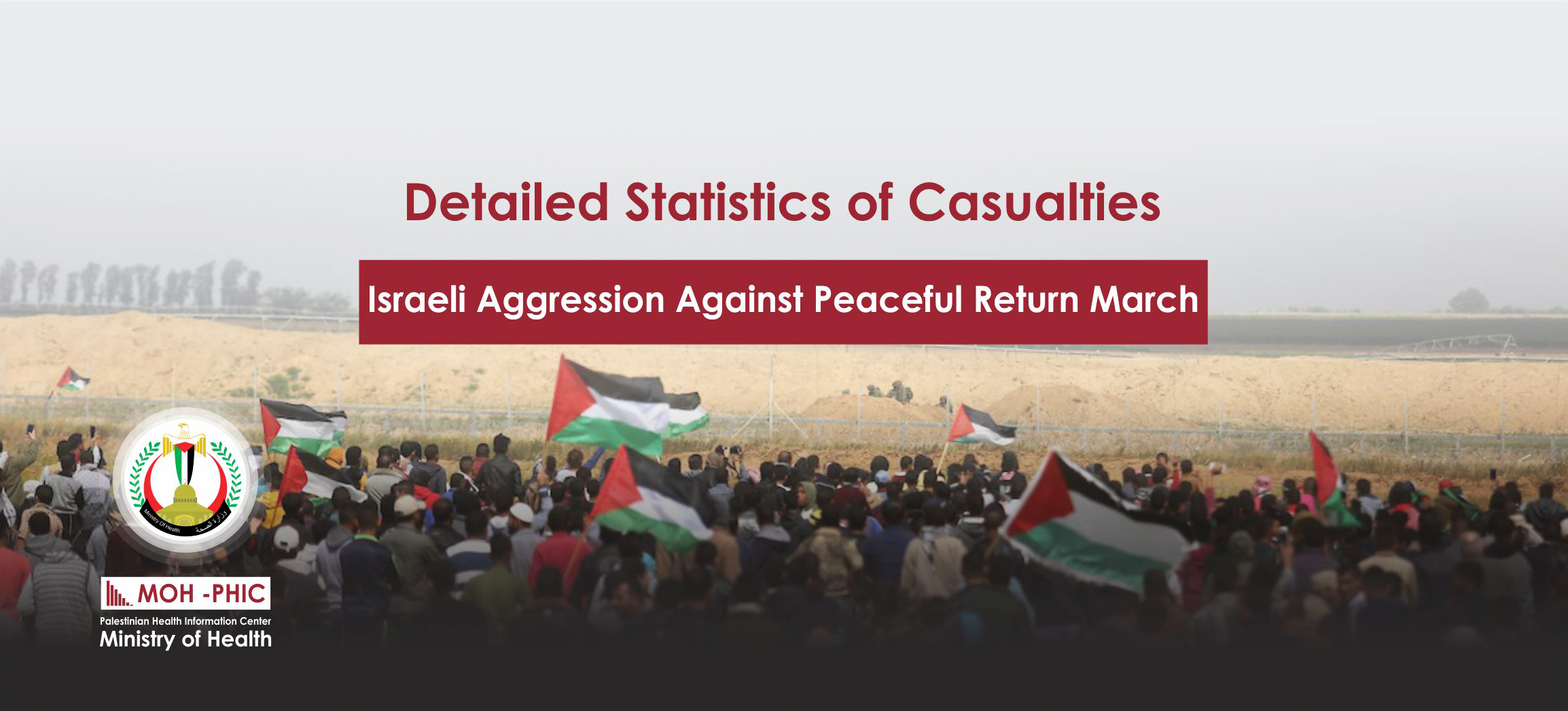 11 . 2019 Israeli Aggression  Against Peaceful Return March