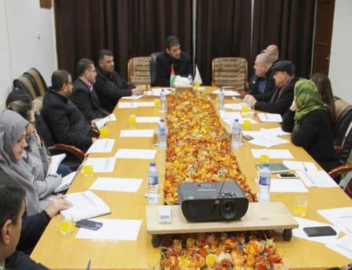 Ministry of Health-Gaza  considers the consequences of the fuel crisis with international institutions