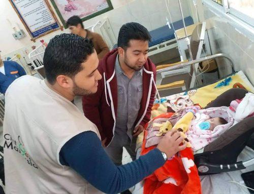 مستشفى النصر للأطفال تستقبل وفداً من مؤسسة أحباء غزة – ماليزيا