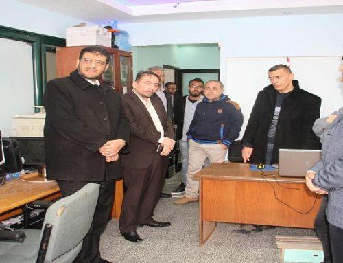 د. ابو الريش يثني على جهود وحدة تكنولوجيا المعلومات في حوسبة الأنظمة الصحية
