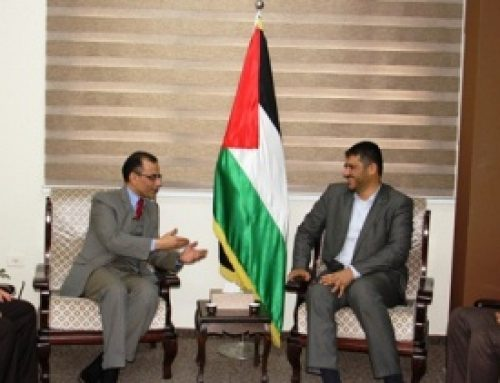 Ministry of Health – Gaza receives the Qatari medical delegation