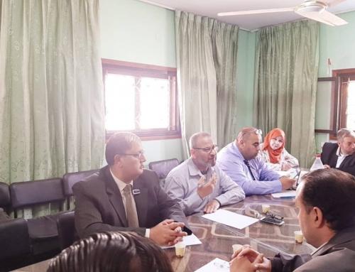 مستشفى الهلال الاماراتي يشارك في لقاء مؤسسات المجتمع المدني