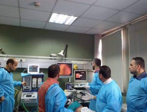 توسيع المرىء بالبالون الطبى لطفل لأول مرة في مستشفيات وزارة الصحة