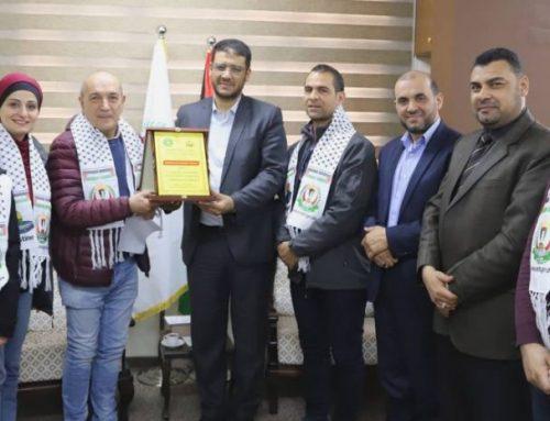 Dr. Yousef Abu Al-Rish praised the efforts made by Médecins du Monde- France efforts
