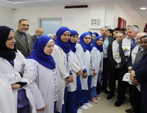 Rantisi Hospital- Gaza completes its preparations for the opening of the pediatric oncology department