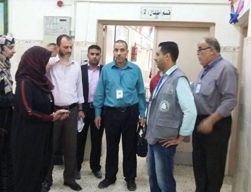 """دائرة """"الخدمات الفندقية"""" تتابع جودة التغذية والنظافة في جميع مرافق وزارة الصحة"""
