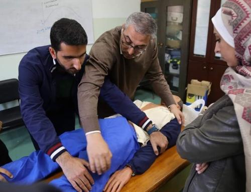 الإدارة العامة لتنمية القوى البشرية تختتم الدورة 49 في الرعاية الاولية للاصابات PTC