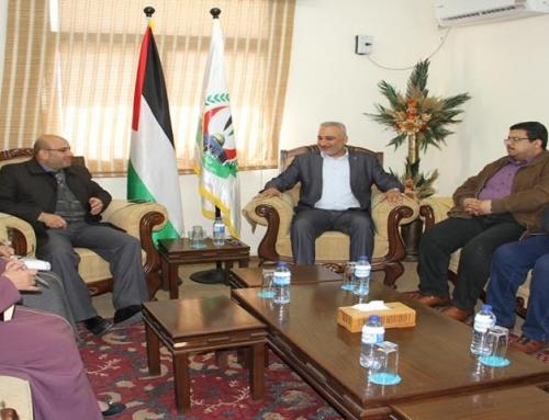 د. ابو زاهر يبحث تعزيز التعاون والشراكة مع الادارة العامة للإقامات وشئون الاجانب والمغتربين