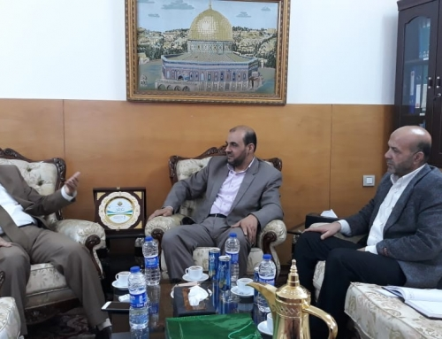 Palestinian Ministry of Health – Gaza, the International Cooperation is discussing health Projects with the Qatari Committee for Reconstruction of Gaza