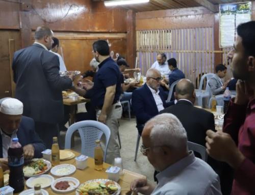 اللوازم العامة بالصحة تنظم مأدبة افطار تكريما لجهود فريقها العامل