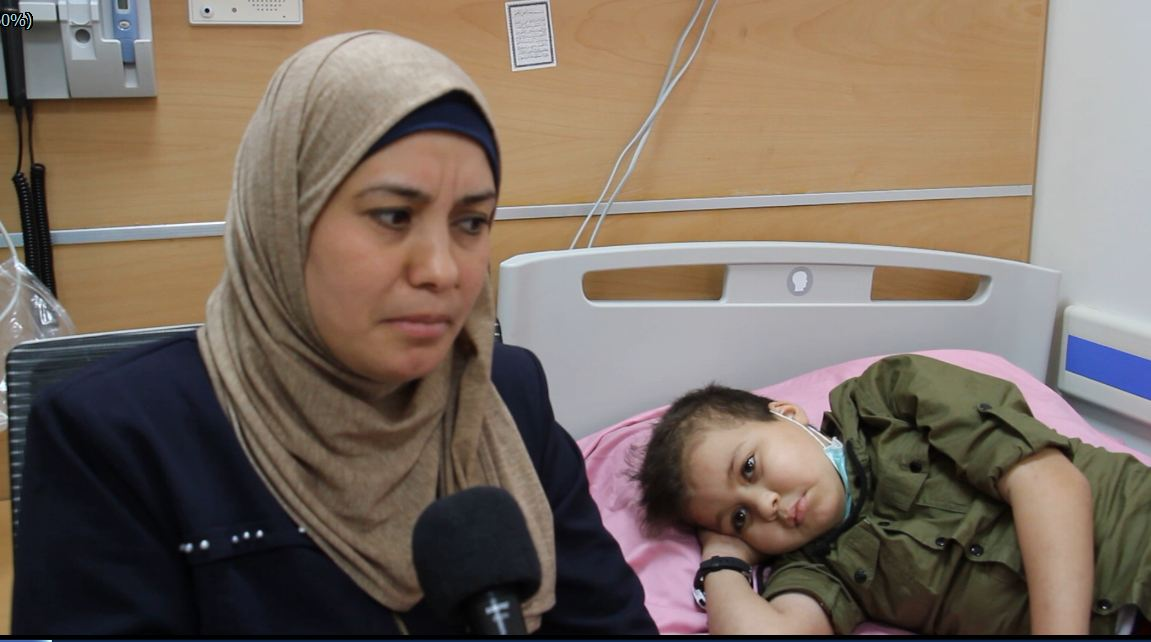 Gaza children patients'… painful journey for cancer treatment
