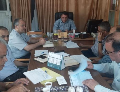 اجتماع لجنة الشؤون الادارية