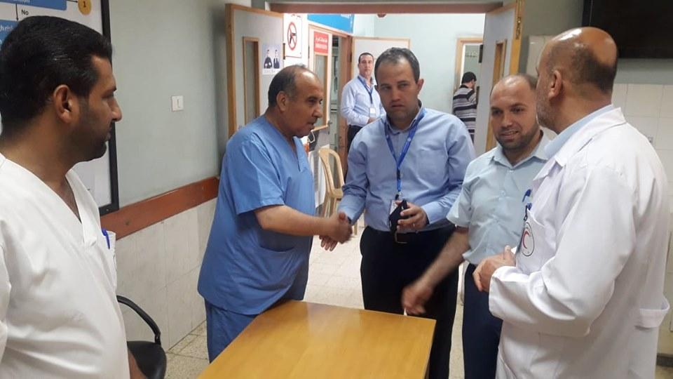 مستشفى الأوروبي ينجح في تطوير قسم الطوارئ