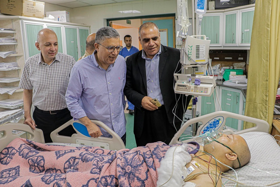 MOH- Gaza concludes the twenty-second stage of kidney transplant and exchange of experiences