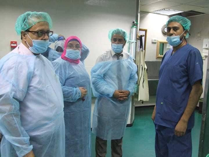 د.أبو سلمية : نسير بخطى ثابتة ونوعية نحو تحسين خدمات مستشفى الولادة بمجمع الشفاء الطبي