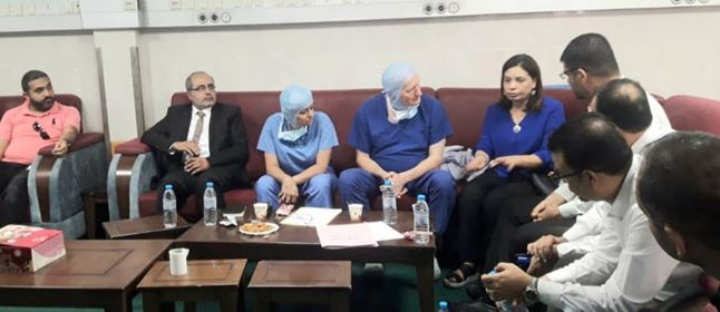 MOH-Gaza and MAP UK discuss orthopedic reconstruction surgeries efforts