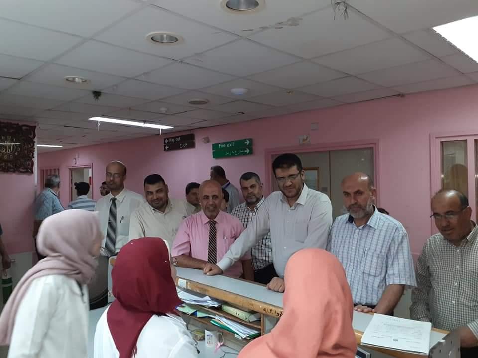 مجلس وزارة الصحة يهنئ العاملين في المستشفيات ليلة عيد الاضحى المبارك