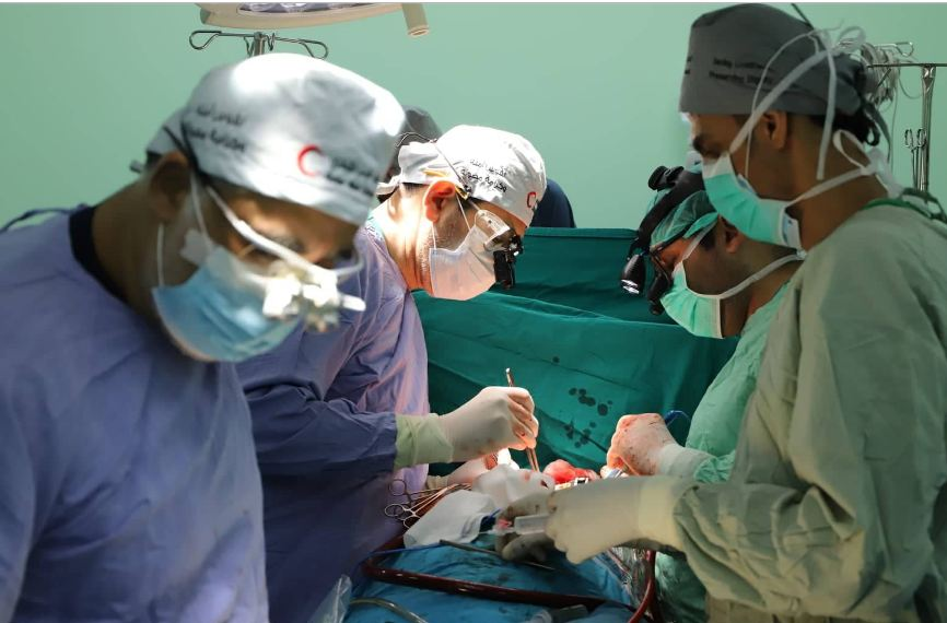More than 600 surgeries were conducted at  European Gaza Hospital during August