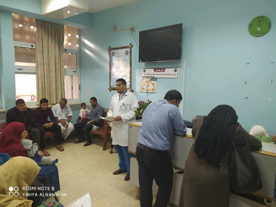 دائرة التمريض بمستشفى غزة الأوروبي تبدأ سلسلة محاضرات توعوية