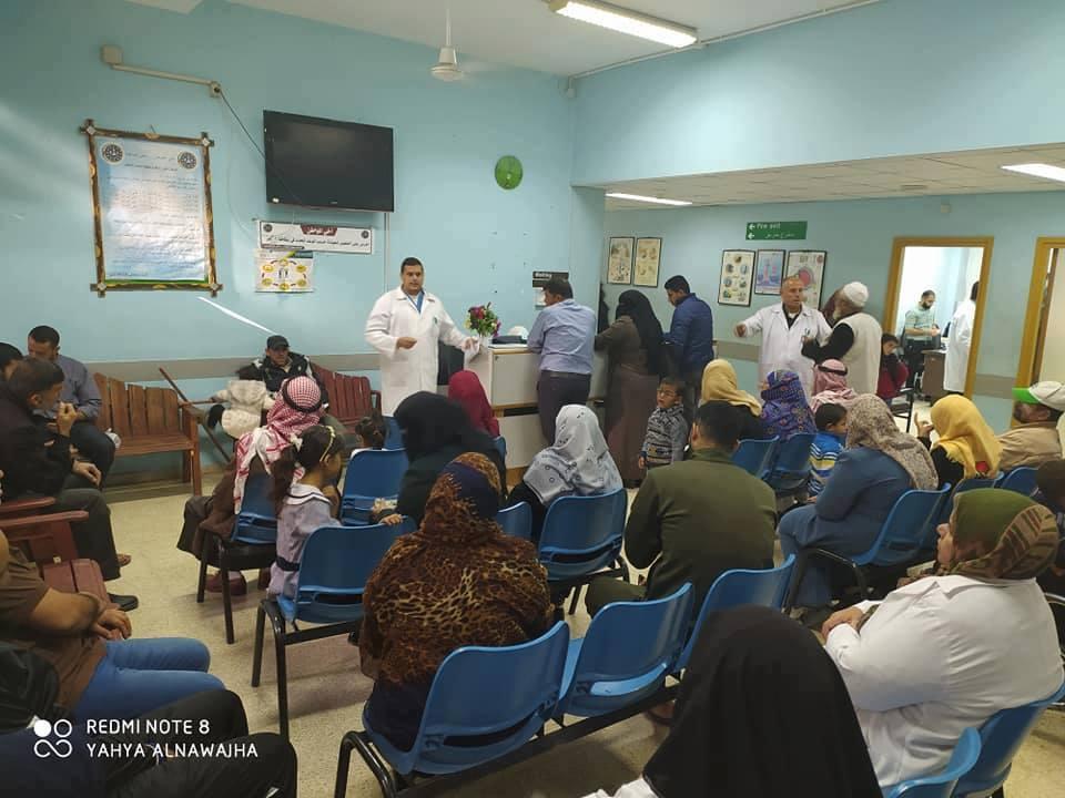 مستشفى النصر للأطفال تعقد محاضرة علمية لحالة تعاني من الشلل الحاد