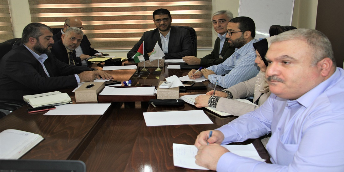 MoH-Gaza discusses ways to enhance cooperation with ICRC