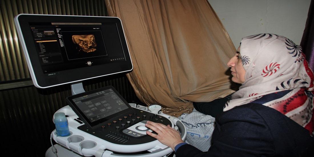 الصحة: تشغيل جهاز التراساوند (رباعي الأبعاد) لاكتشاف التشوهات الخلقية مبكرا في مركز شهداء الرمال الصحي