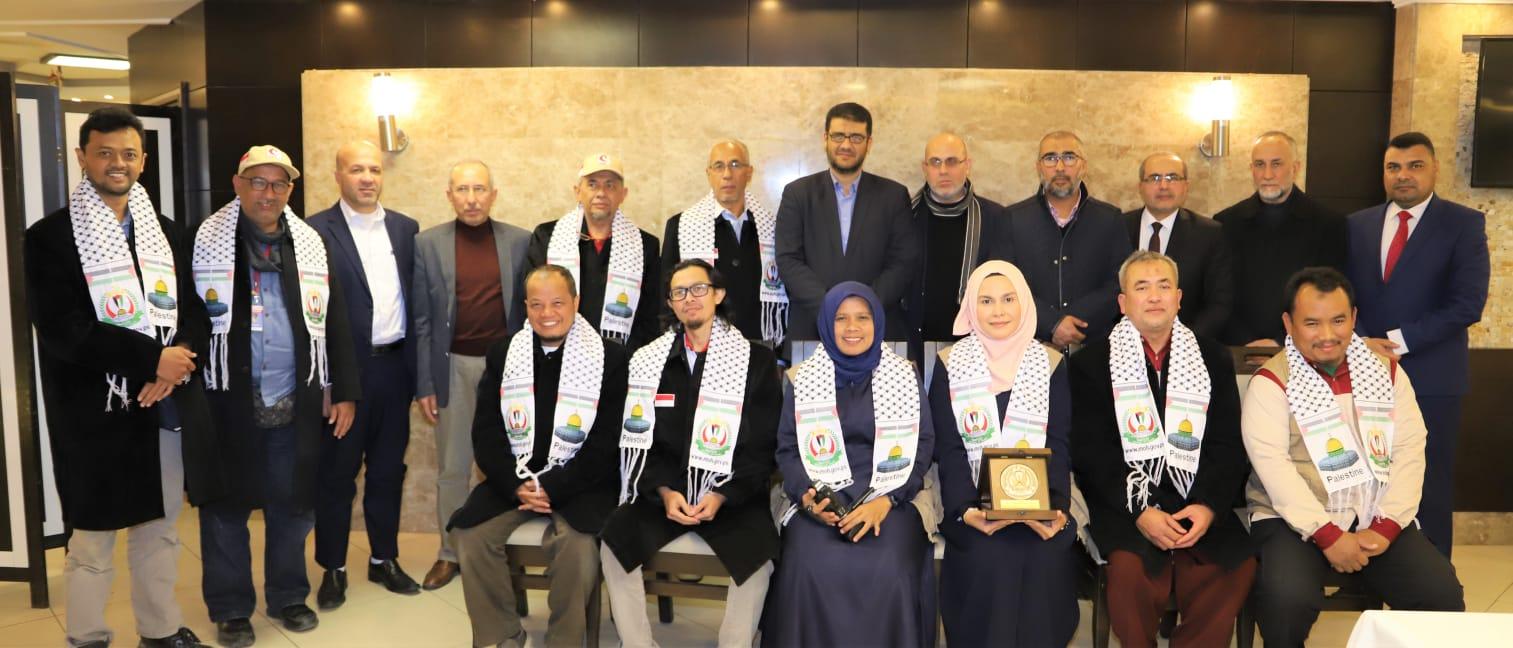 """د. أبو الريش يثمن الدعم الكبير لمؤسسة ميرسي اندونيسيا في تنفيذ المرحلة الثانية من توسعة"""" المستشفى الاندونيسي """""""
