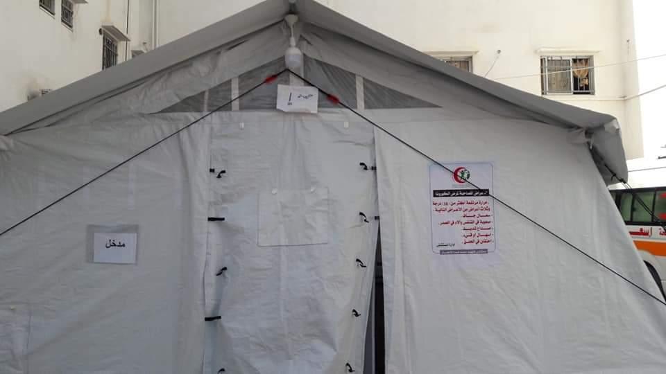 الصحة : تجهيز غرف لفرز الحالات قبل دخولها المستشفيات ضمن الإجراءات الوقائية لمنع انتشار العدوى